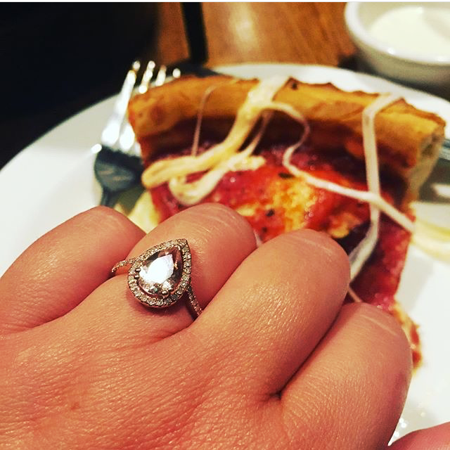 ring and pizza
