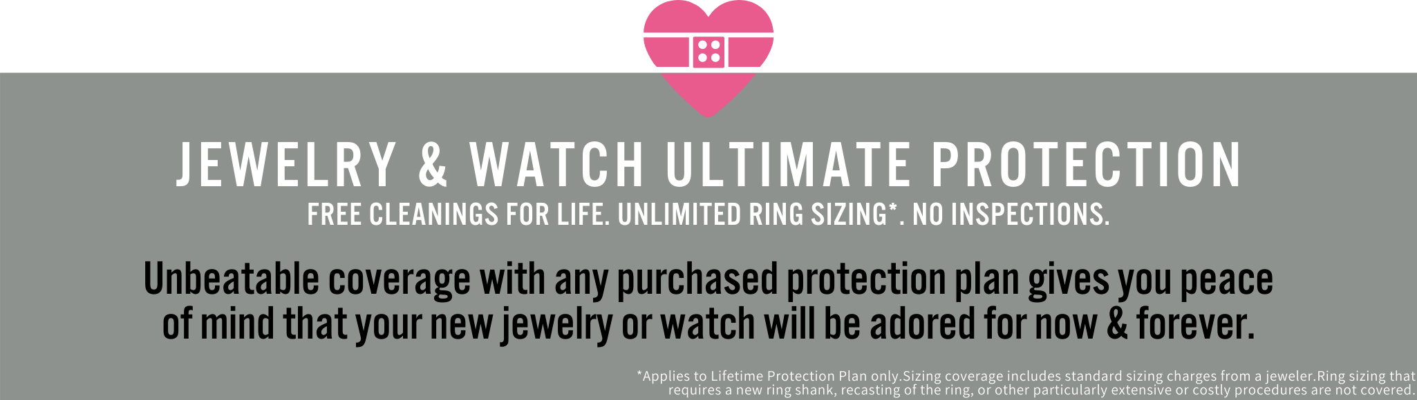 jewelry lifetime protection