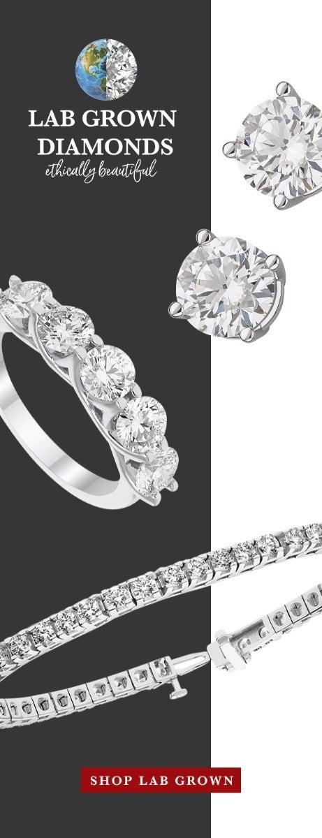 lab grown diamond jewelry