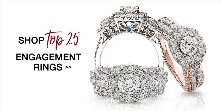 Top 25 Engagement Rings