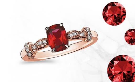 f86c2ac08 Garnet is a perfect stone for the cold days of January. With its warm red  hue, garnet is said to stimulate the senses and increase vitality.