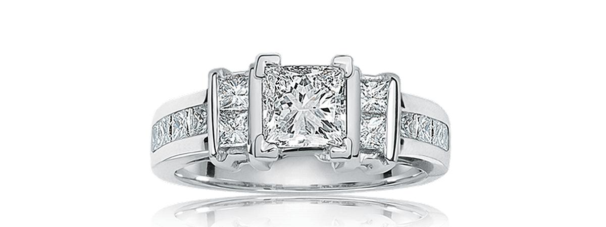 elegance engagement ring