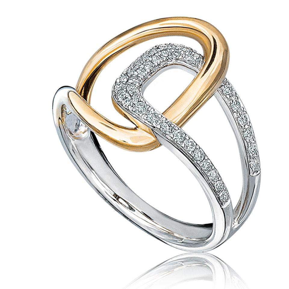 interwoven ring